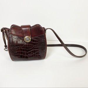 Brighton Brown Shoulder Bag Purse Leather Handbag